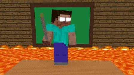 我的世界动画-地面是熔岩挑战-FULL Minecraft Animation