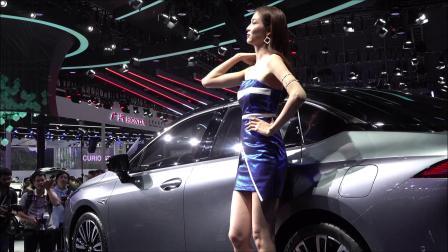 廣州國際車展 廣汽新能源汽車  陈婉萍pinky 車展美模