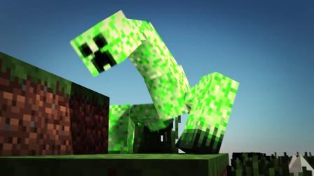 我的世界动画-加了模组的破坏者-LateZ Animations