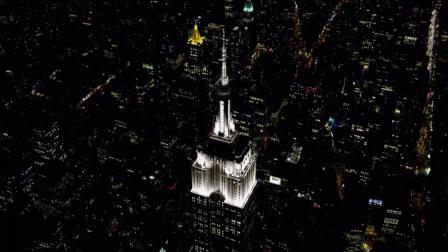 维多利亚的时尚大秀 2018 直升机俯瞰纽约全城,阿德里亚娜点亮粉红奇幻夜,太疯狂了