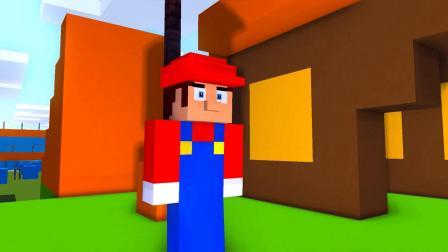 我的世界动画-超级玛丽 vs 巴迪-MineCZ