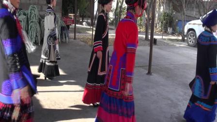 (吉伍阿合)彝族结婚。彝族电影。彝族歌曲。吉克阿加和沙杰新婚之喜第三集
