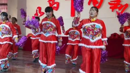 七圩教会2018年圣诞节彩排舞蹈欢乐圣诞佳音
