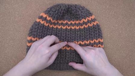 第286集相思帽子的钩织方法(下集)小辛娜娜钩织帽子围巾教程编织毛线帽子围巾