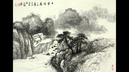 当代极具收藏价值国画家李百战作品赏析-金安传媒
