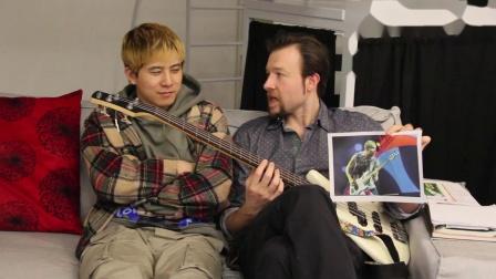 【Aicy爱曦】弹贝斯的人都要来学习!你会和红辣椒乐队Flea同样的酷