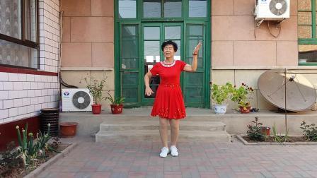 春满华夏广场舞《格桑姑娘》编舞重庆叶子