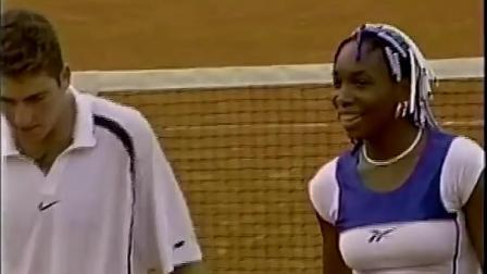 【HL】大威廉姆斯/吉梅尔斯托布VS小威廉姆斯/罗波 1998年法网混双决赛