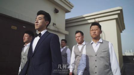几何电影| Qu and Xue 万豪酒店婚礼快剪