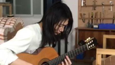 敢问路在何方 序曲西游记主题曲 威尔特吉他手工古典琴独奏 威尔特吉他-大兆娃节