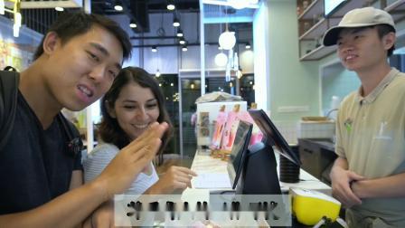 美国聋人史黛丝采访广州无声的cake蛋糕店【中文字幕】