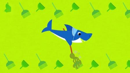 碰碰狐儿歌之鲨鱼宝宝人气系列中英双语特辑 The Shark Family