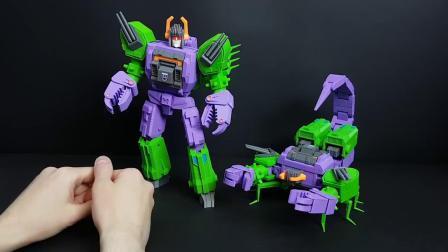 Printformers 3D打印 变形金刚 G1元祖漫画 萨克巨人 视频评测 转载