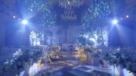 宿州大时代酒店金桔厅灯光秀