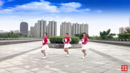 绍兴柯灵广场舞【如果就这么老了】编舞:太湖彬彬  视频制作:龙虎影音