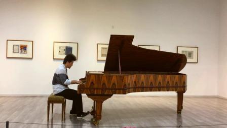 19世纪价值500万钢琴弹肖邦《革命》by郁庸(武大万林博物馆)20190817