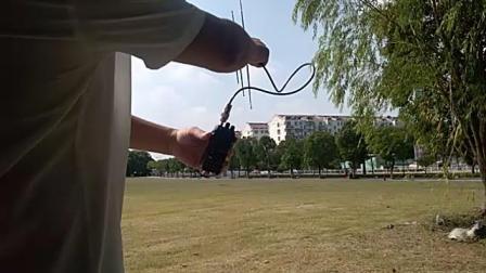 bh5hde 业余无线电 折叠小八木,手持天线爬山利器