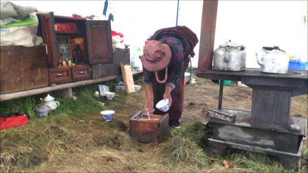 探访青海省河南蒙古族自治县仍然保留游牧习惯的蒙古人(一)