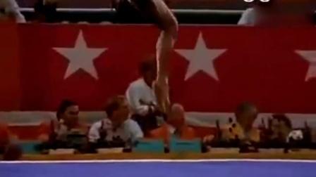 1984年洛杉矶奥运会男子体操单环比赛~李宁