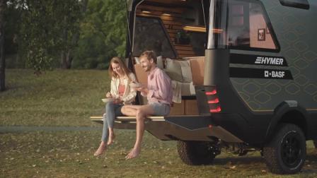 巴斯夫与HYMER打造未来式房车:VisionVenture