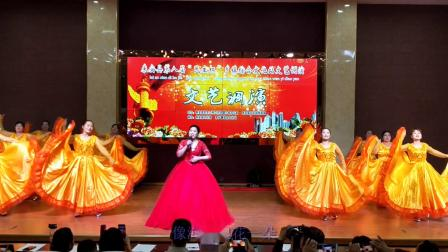 来安县第八届民生杯文艺调演杨郢乡综合文化站选送节目歌伴舞《我和我的祖国 》