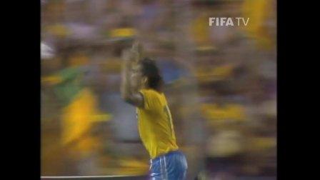世界杯经典进球 1982年世界杯小组赛 巴西左脚将埃德尔 vs 苏联