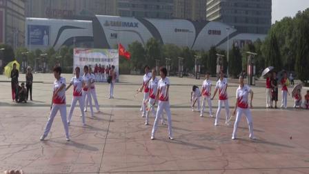 柔力球《 一二三四 》湘潭市雨湖区体育馆柔力球一班