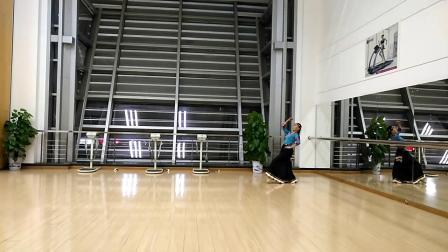 舞蹈 溜溜的姑娘(学跳张攀老师创编的藏族舞蹈)
