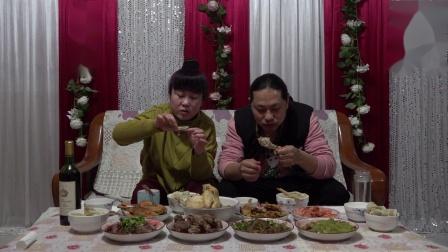 年夜饭丰富的八个菜,味道不错 朱坤(2020-1-24)