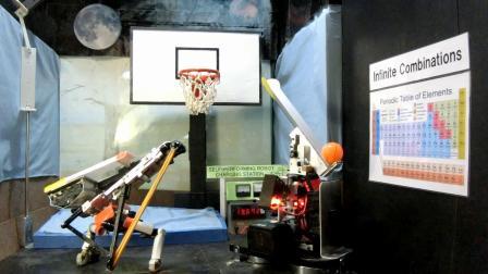 Basketball Pass and Dunk Robot