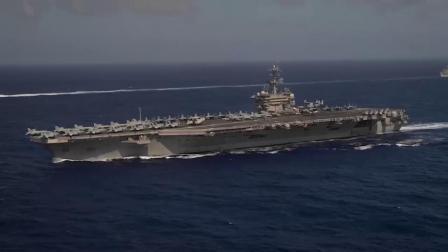 美军西奥多·罗斯福航母战斗群与远征战斗群于印度洋-太平洋海域联合行动