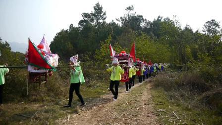 云南农村一年一度的祭龙节活动壮族山歌