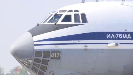 俄空天军向斯普斯卡共和国派遣军事医务人员及相关特种设备协助抗击疫情