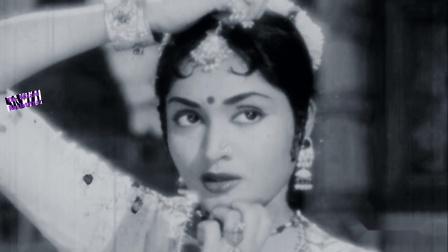 【黑白怀旧】Vyjayanthimala经典电影《希望》歌舞插曲 Tu Na Aaya Aur Hone Lagi-Aasha