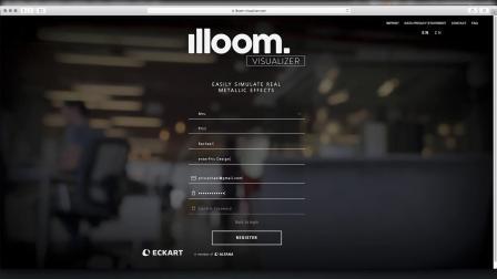 1. 注册 illoom. Visualizer