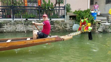 2020 南海叠滘村端午龙船游龙互访-潭头三约龙船 三龙汇聚