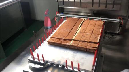 全自动奶油枣泥蛋糕切割 - 驰飞超声波