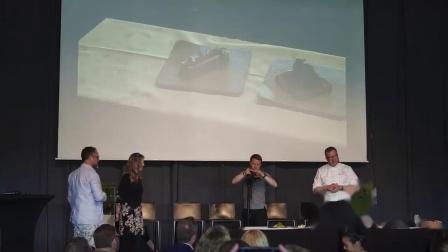 瑞典食品技术活动The Big Meet:Foodini和米其林厨师Ulf Wagner创建的3D美食   Foodini and Ulf Wagner