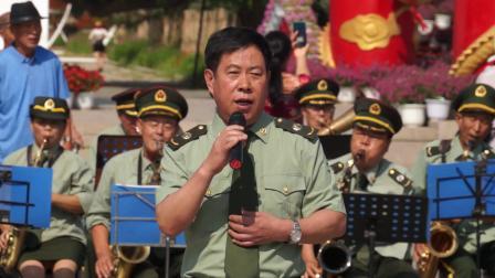 2020-7-26辽宁影视俱乐部启动仪式男生独唱《把一切献给党》