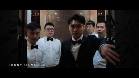 「ZHANG BOHAN + ZHAO LINGXU」昆仑酒店婚礼快剪 | 暄影像工作室