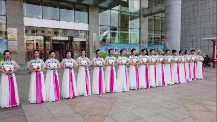 鲅鱼圈老干部大学庆祝建国71周年-模特表演《一生一个祖国》