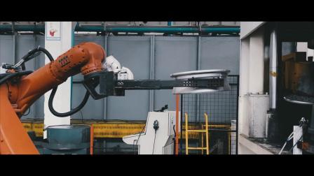 PDW旋压铸造轮毂生产全流程