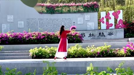 三月桃花雨  古典小扇舞〖背面〗曾惠林舞蹈系列