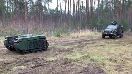 德国陆军测试忒弥斯机器人战车