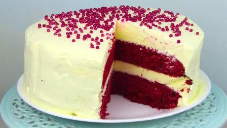 焙友之家丨红丝绒冰激凌蛋糕