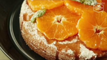 蛋糕裱花教学视频小清新橘子杏仁蛋糕_高清rl0做巧克力慕斯蛋糕
