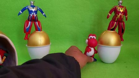 奥特曼金蛋哆啦A梦面包超人我的世界花园宝宝