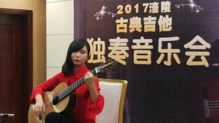 2017陈曦涪陵站古典吉他独奏音乐会-视频3-涪陵陆艺吉他艺术中心