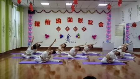 """白城耘绾瑜伽女子会馆,舞韵瑜伽""""愿做菩萨那朵莲""""小颖教练原创。"""
