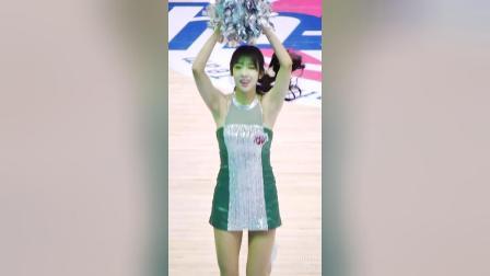 180218 韩国职业篮球联赛 啦啦队美女 김보배 나혜